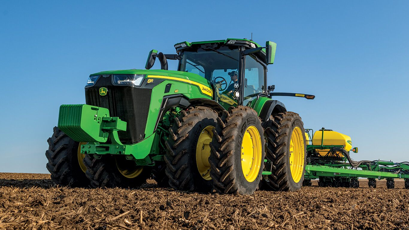 john deere introduces the 8rx tractor the industry's