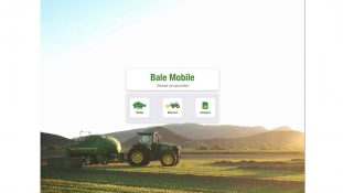 John Deere Bale Mobile app helps growers connect data to individual bales
